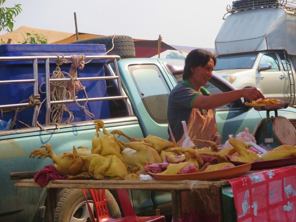 """""""Sunday"""" market, Thai/Myanmar border"""