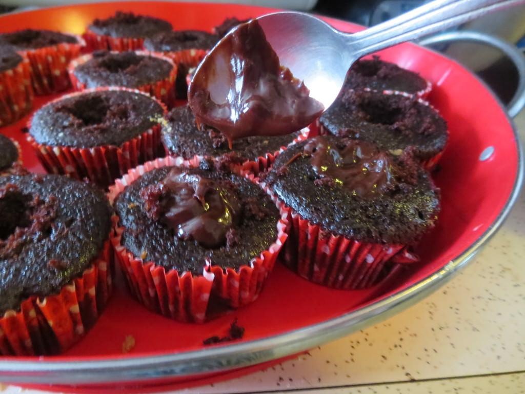 Chocolate cherry bomb cupcakes 087