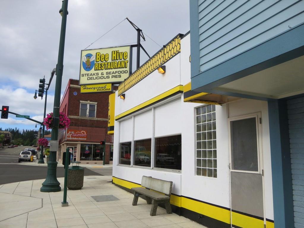 The Beehive diner Montesano WA