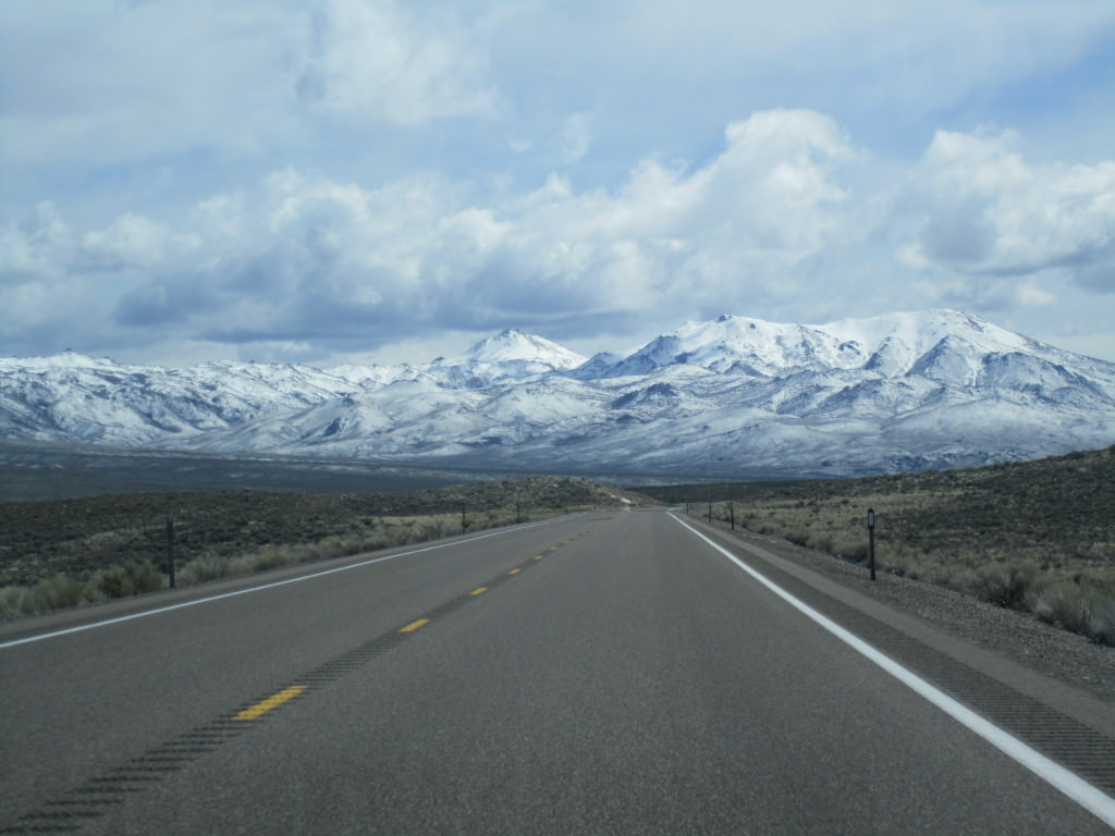 Northern Nevada highway