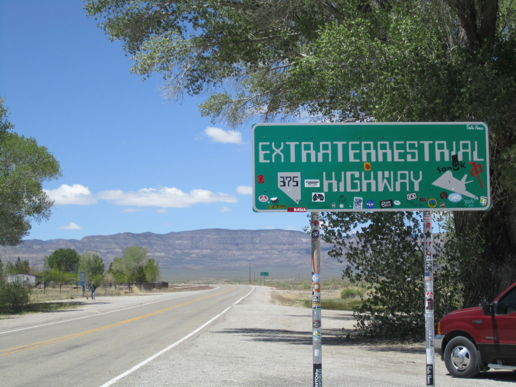 Extraterrestrial Highway, Nevada road trip