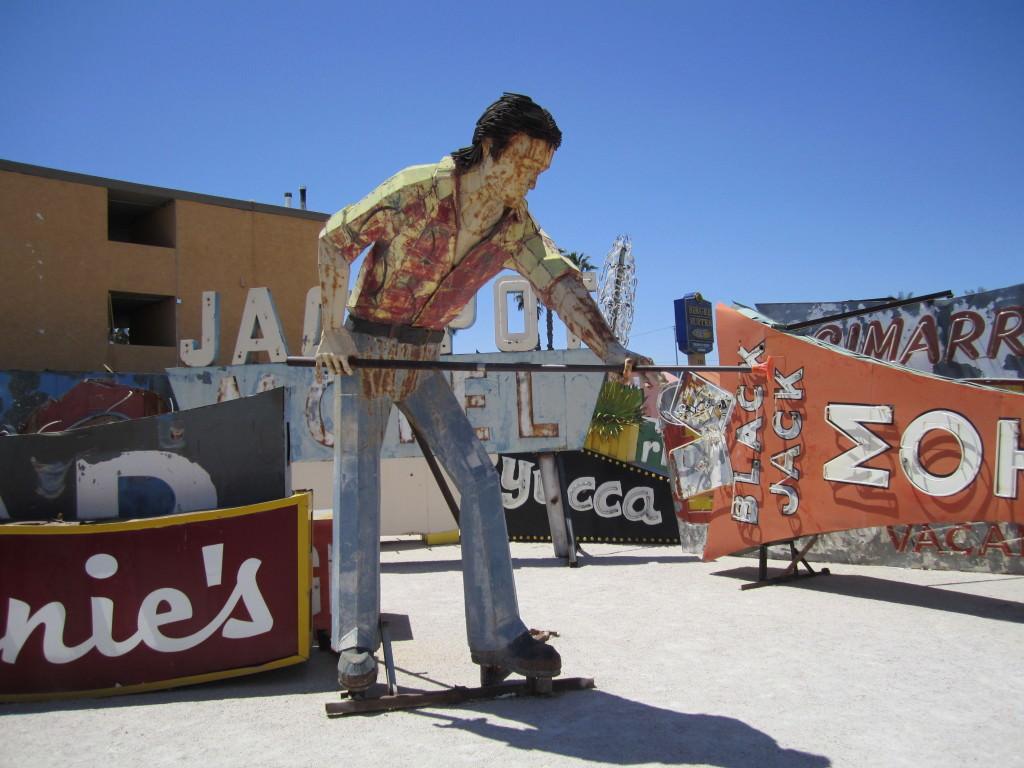Vegas Vic The Neon Boneyard in Las Vegas