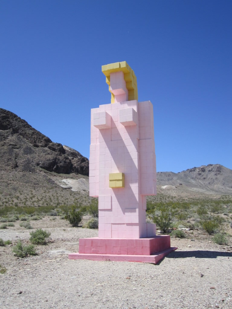 Sculpture park in Rhyolite Ghost Town, Nevada