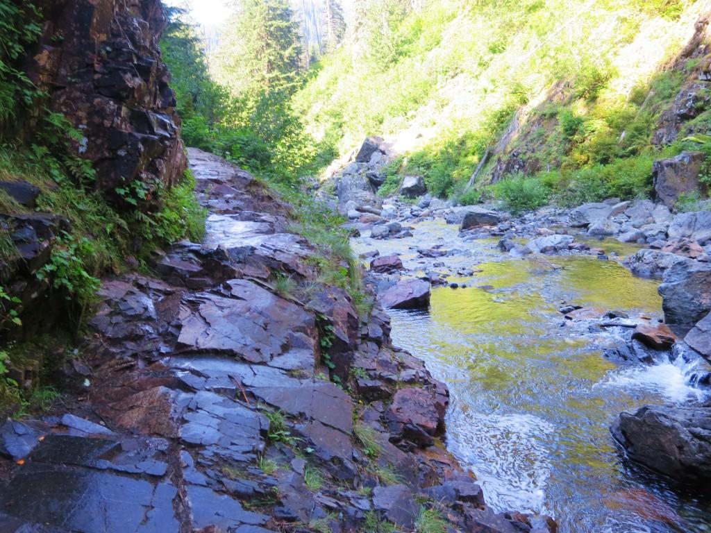 Franklin Falls trail