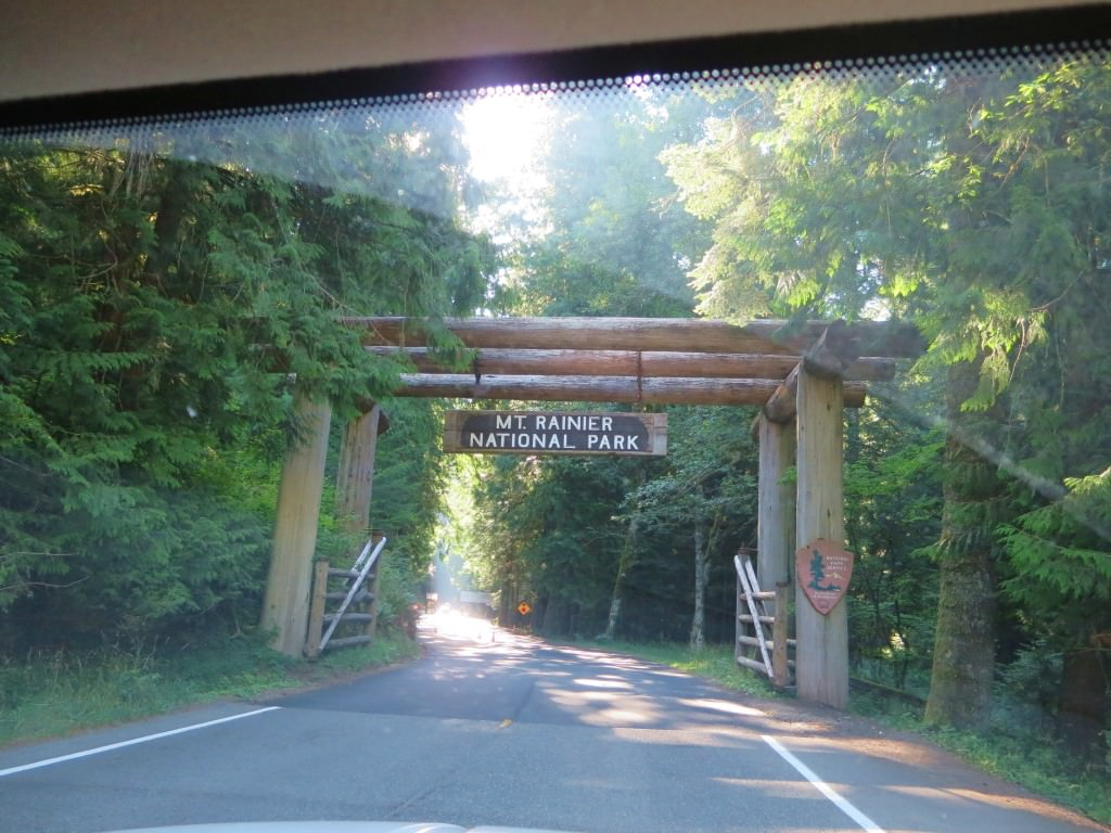 Mt Rainier Nisqually Entrance