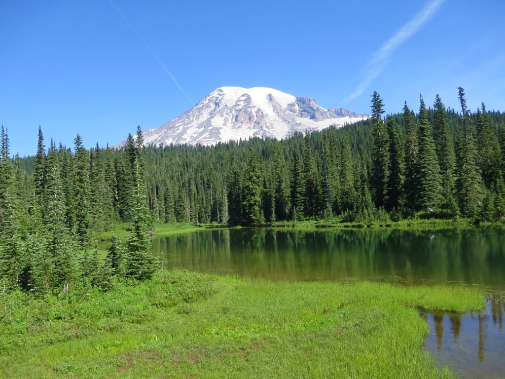 Reflection Lake Mt Rainier