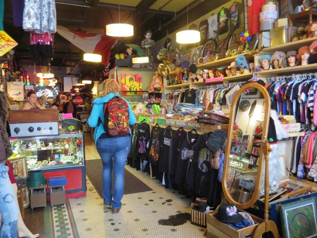 Vintage Funk store Victoria BC