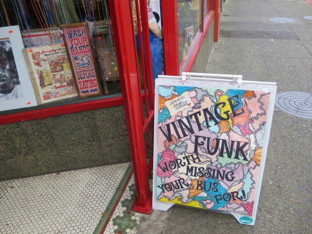 Victoria BC vintage clothing stores