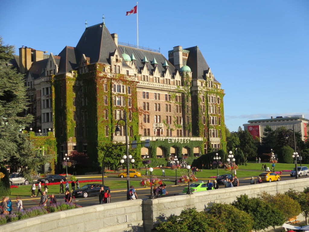 The Fairmont Empress Hotel Victoria BC