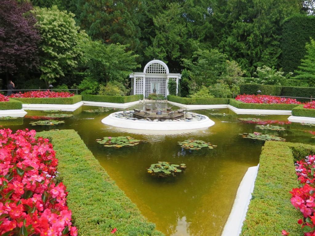 Star Pond Butchart Gardens Victoria BC