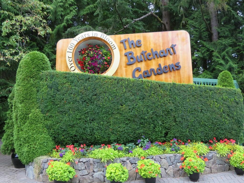 The Butchart Gardens Victoria BC
