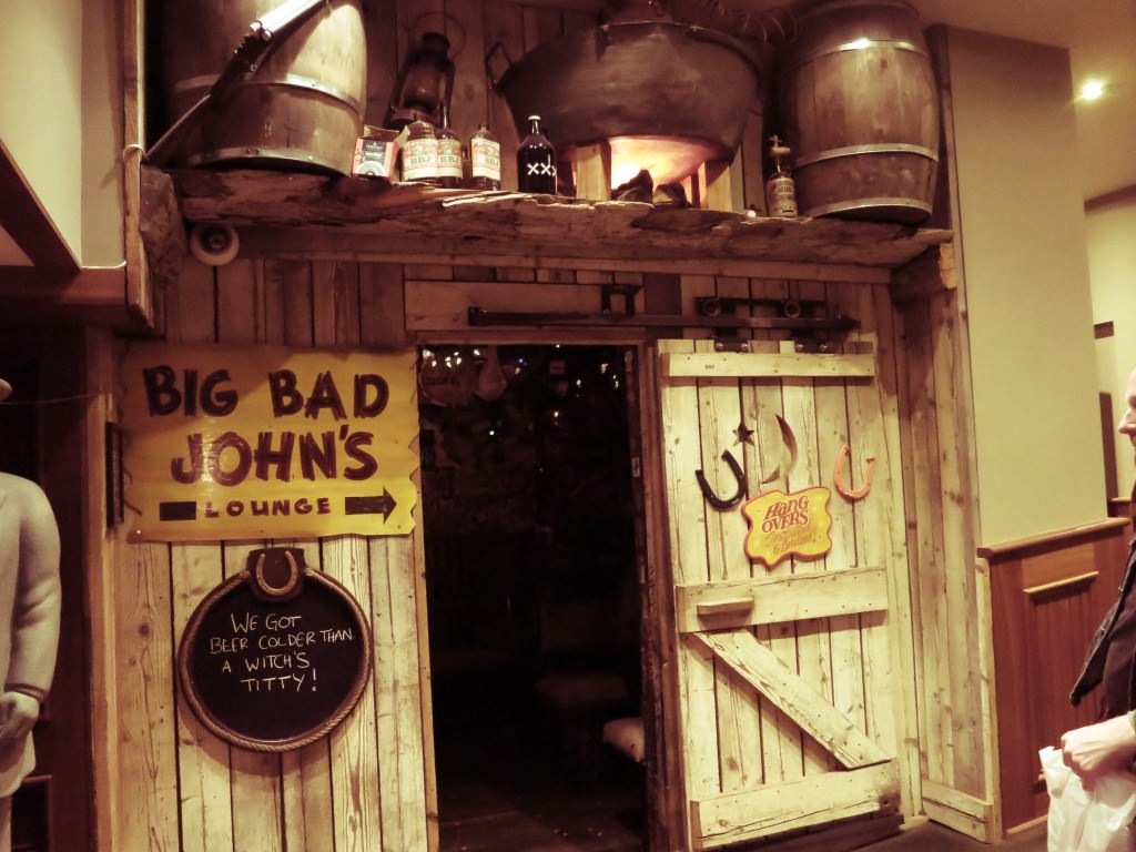 Big Bad John's Strathcona Hotel Victoria BC