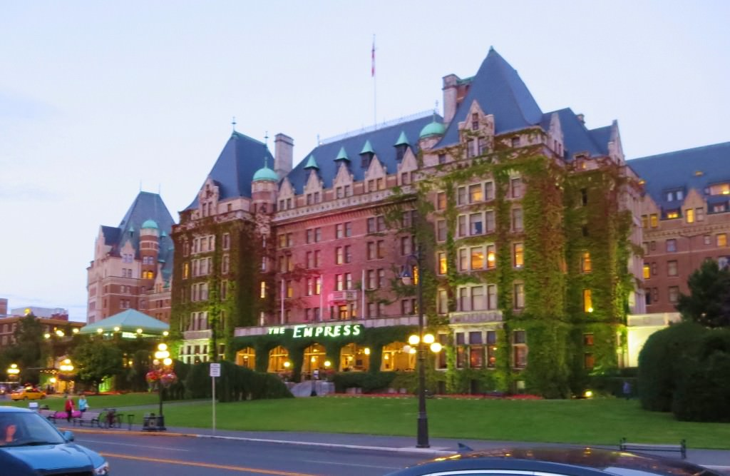 Victoria BC The Empress Hotel