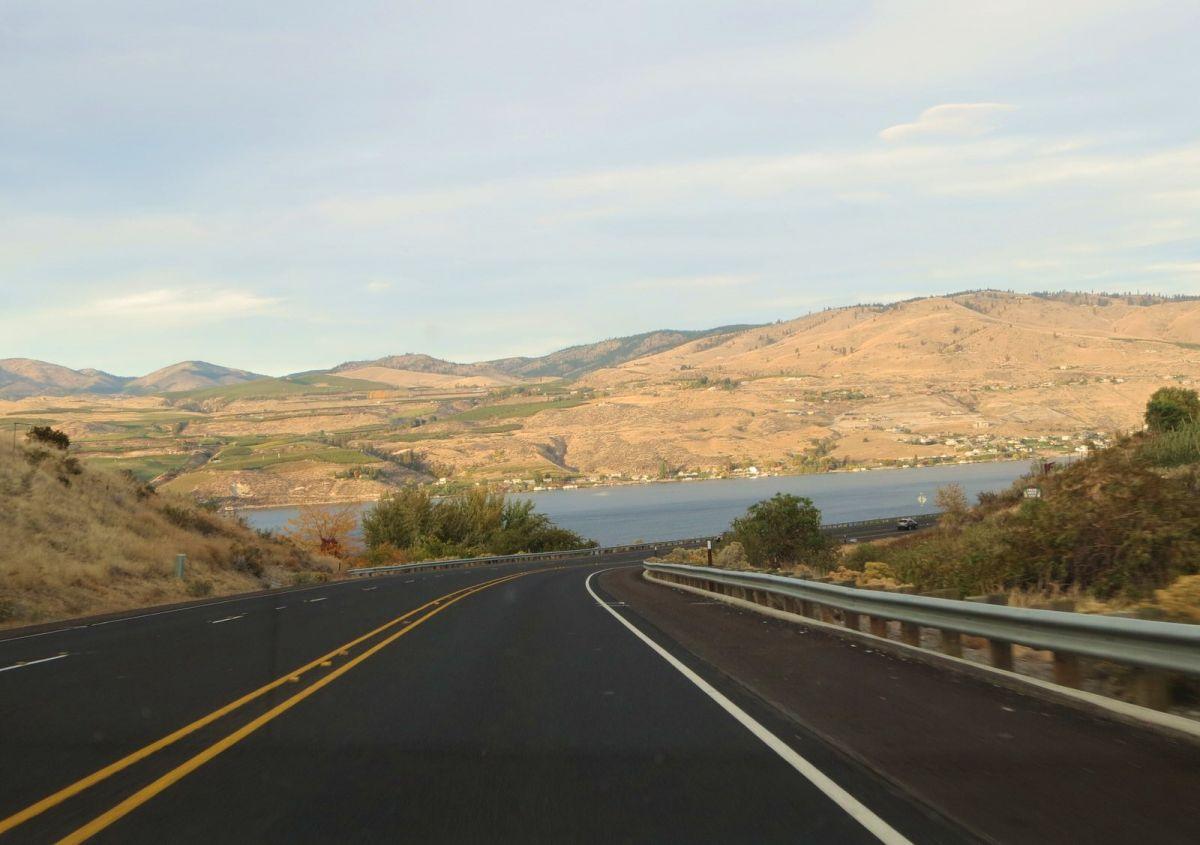 Approaching Lake Chelan