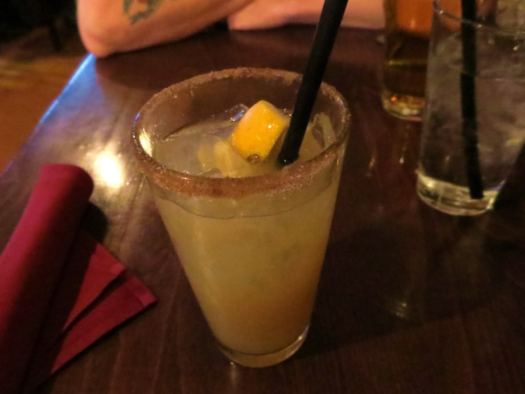Jalisco Pear cocktail at Campbell's Chelan WA