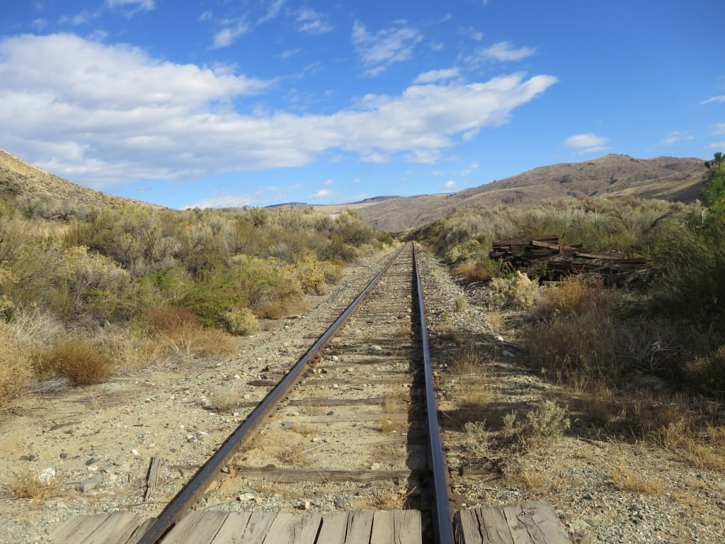 Chelan Crush Eastern Washington train tracks