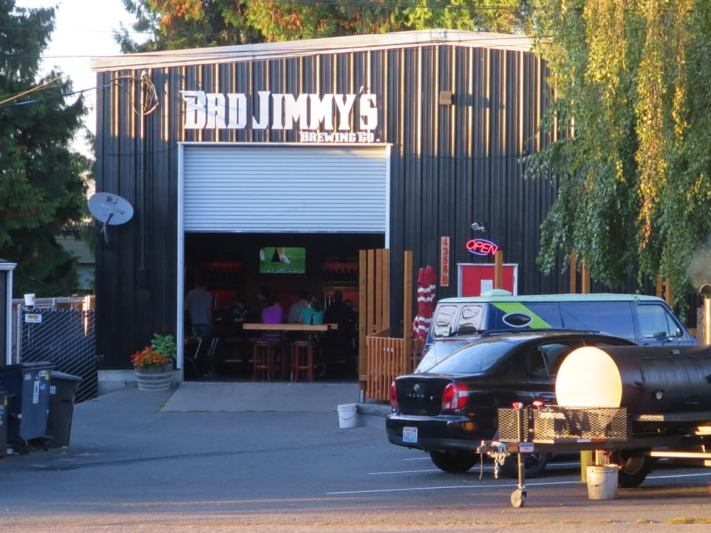 Bad Jimmy's Brewing Seattle Cycle Saloon tour