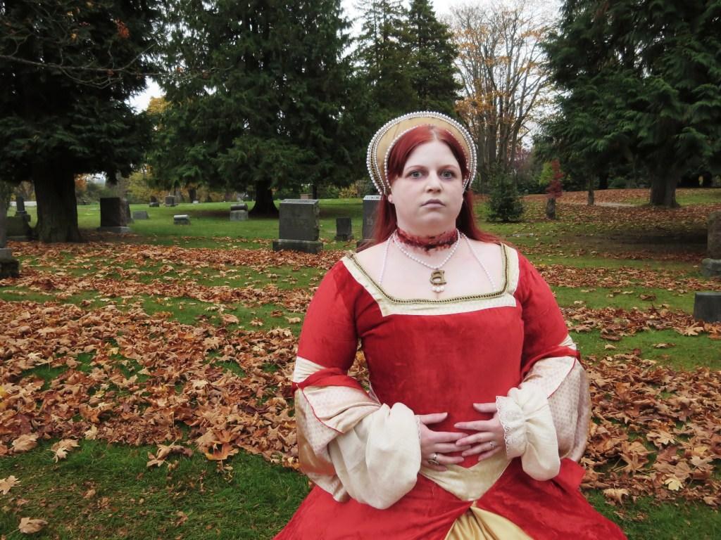 Halloween costume Anne Boleyn