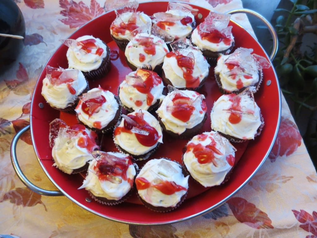 how to make broken glass cupcakes