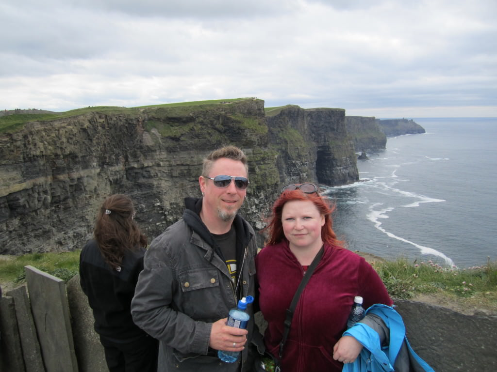 At the Cliffs of Moher, Ireland 2012