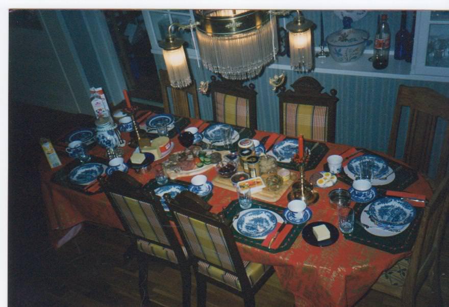 Norwegian Christmas dinner