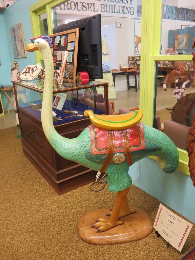 Albany historic carousel museum Oregon
