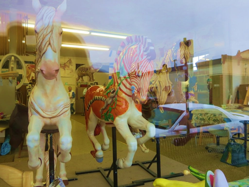 Albany historic carousel museum Oregon
