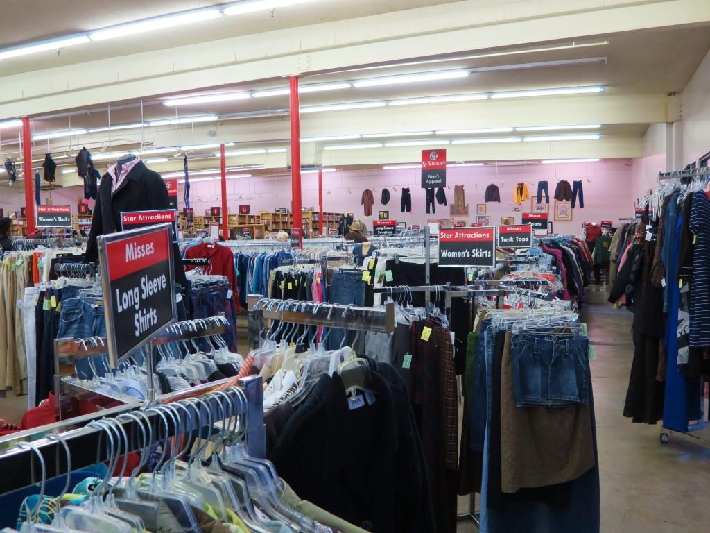St. Vinnie's thrift store Albany Oregon