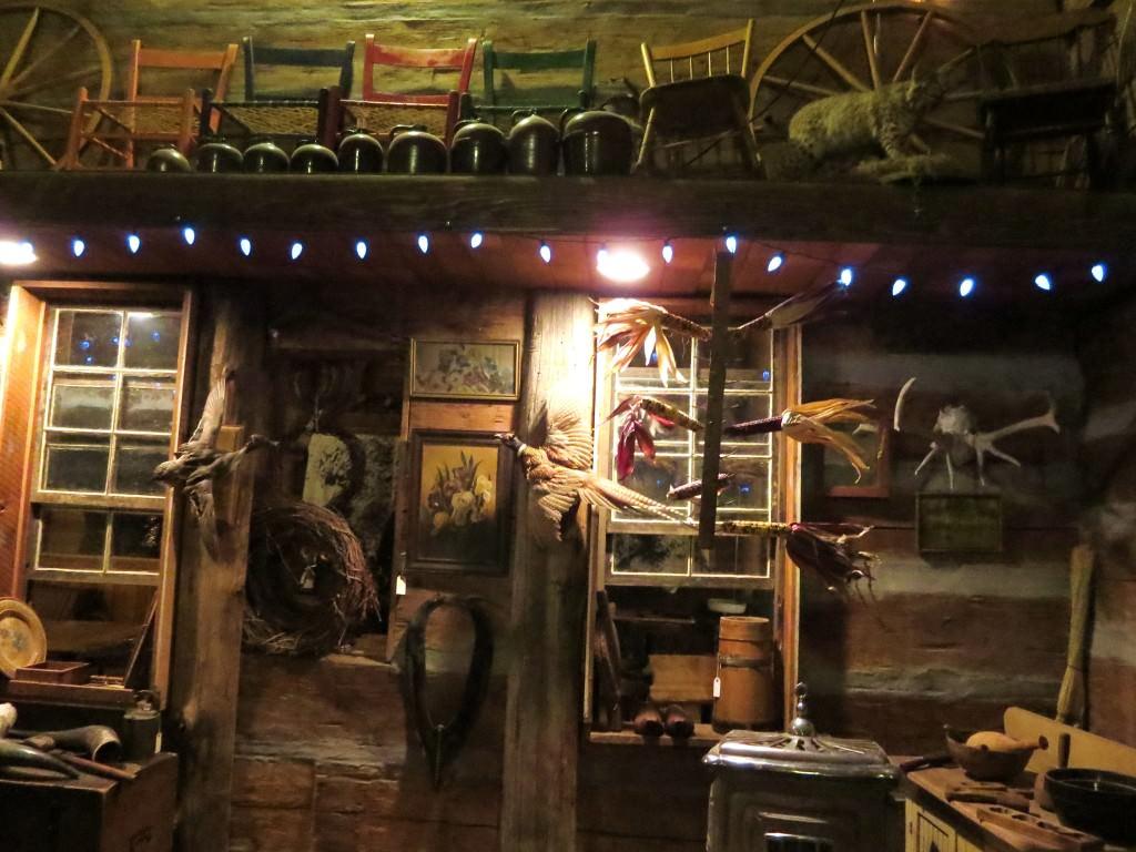 Inside Kirks Ferry Cabin Brownsville, Oregon