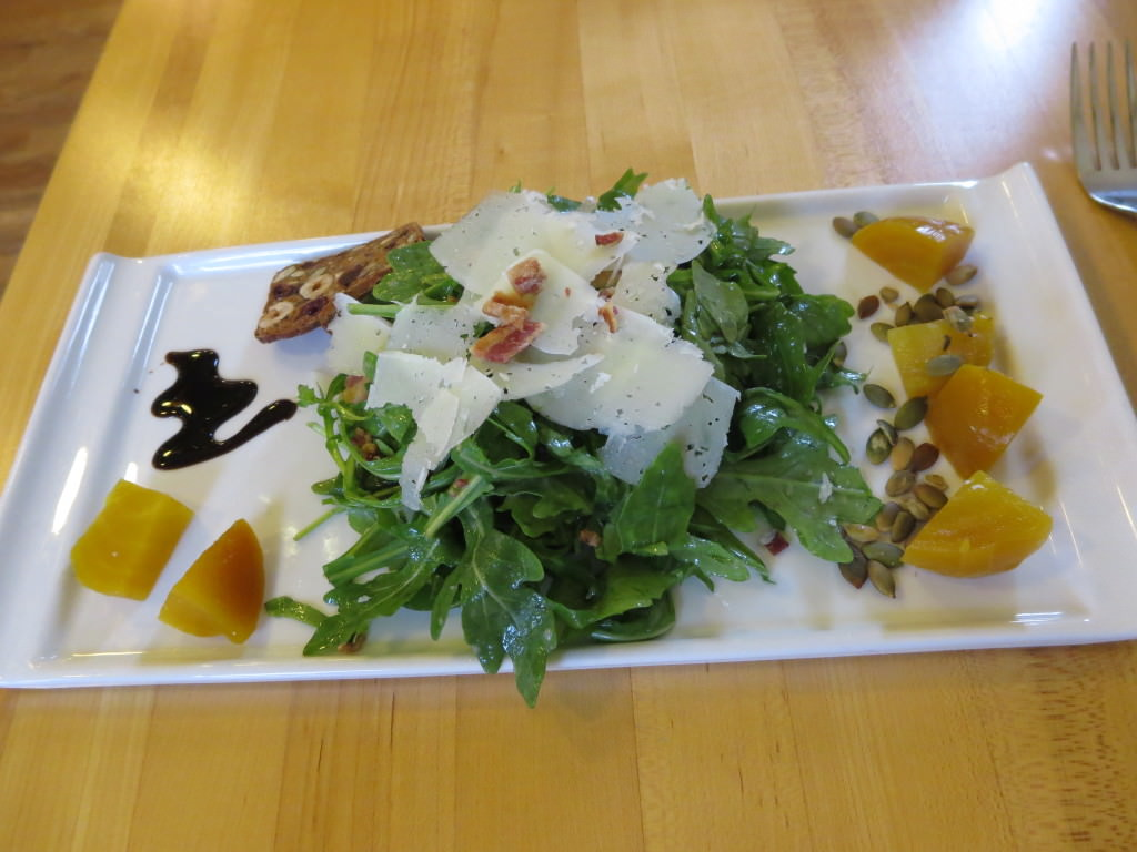 Salad at San Juan Cheese Friday Harbor
