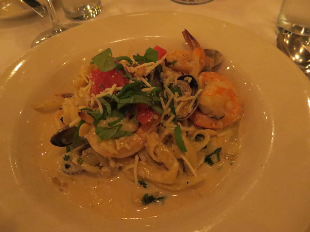 Vinny's seafood pasta Vinny's Restaurant Friday Harbor