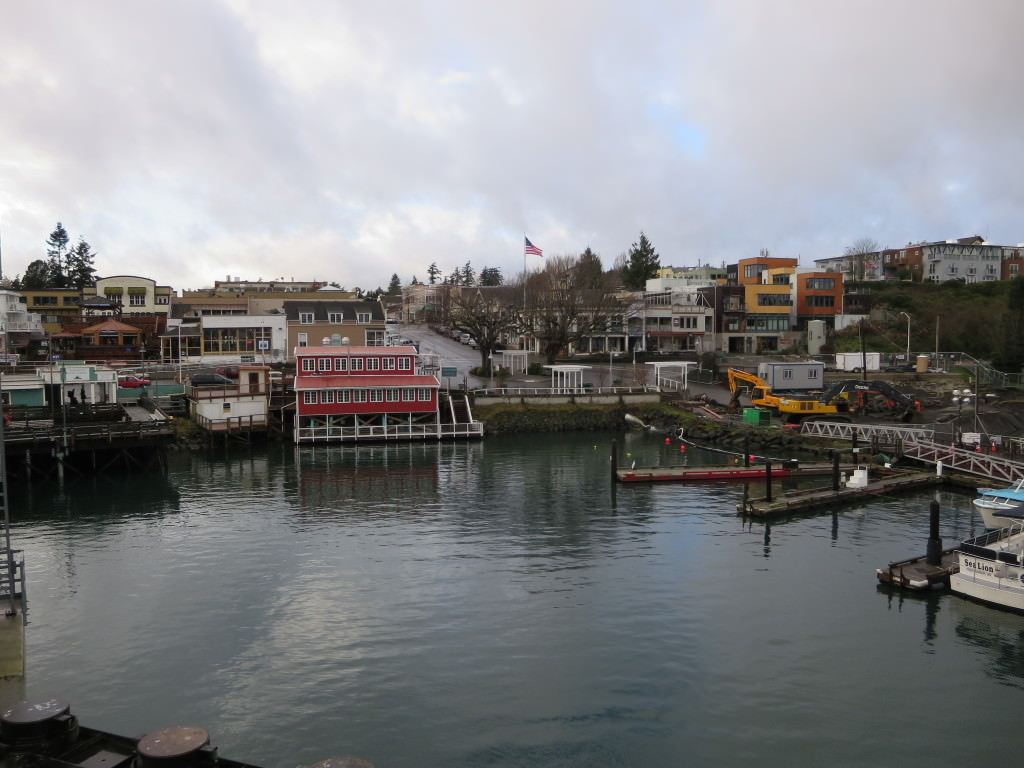 Friday Harbor in the winter