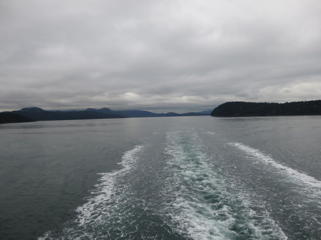 San Juan Islands ferry winter time