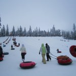 Snow Tubing at Snoqualmie Pass, WA