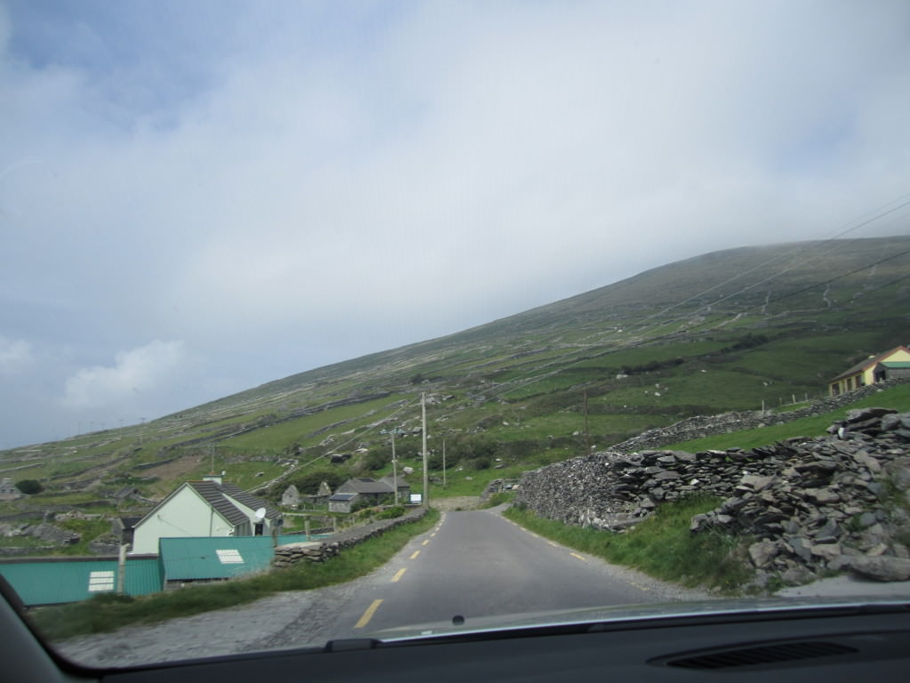 motion sickness winding roads in Ireland