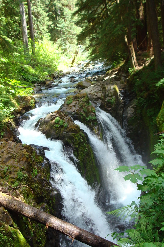 Sol Duc Falls Olympic National Park romantic getaways