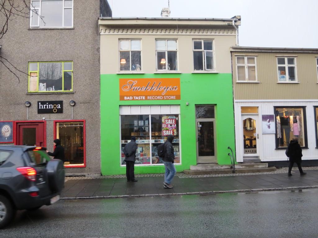 Bad Taste Record Store Reykjavik
