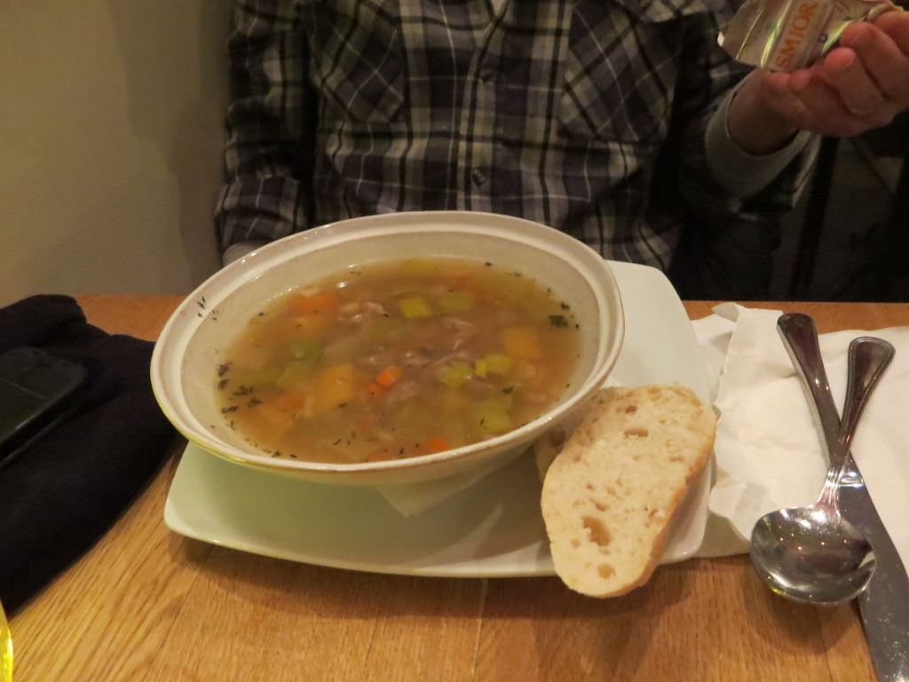 Lamb soup Scandinavian restaurant Reykjavik