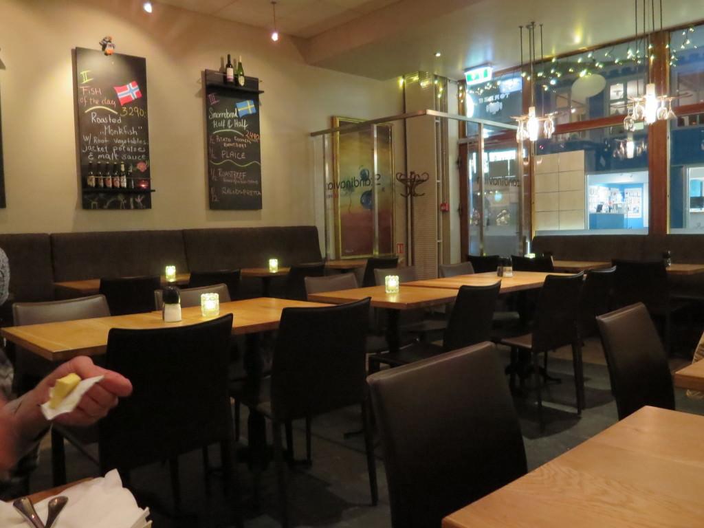 Scandinavian restaurant Reykjavik