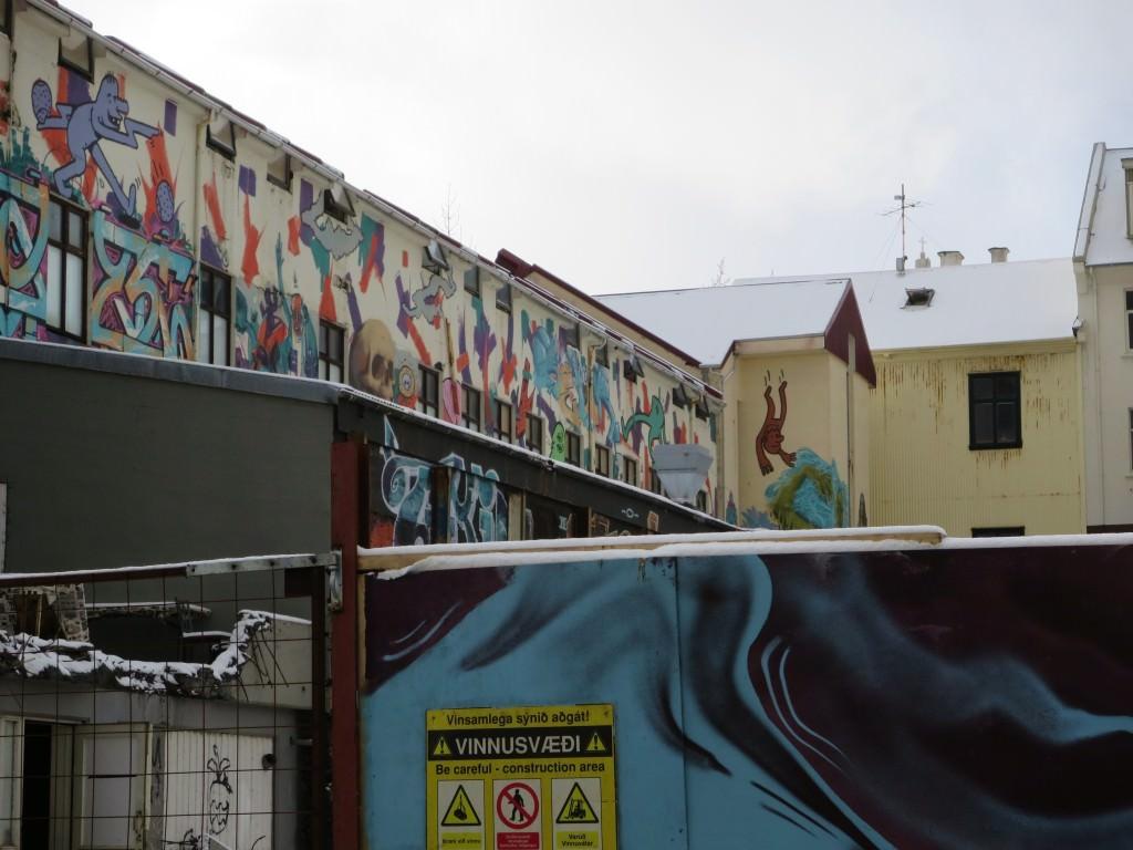 Reykjavik Iceland graffiti