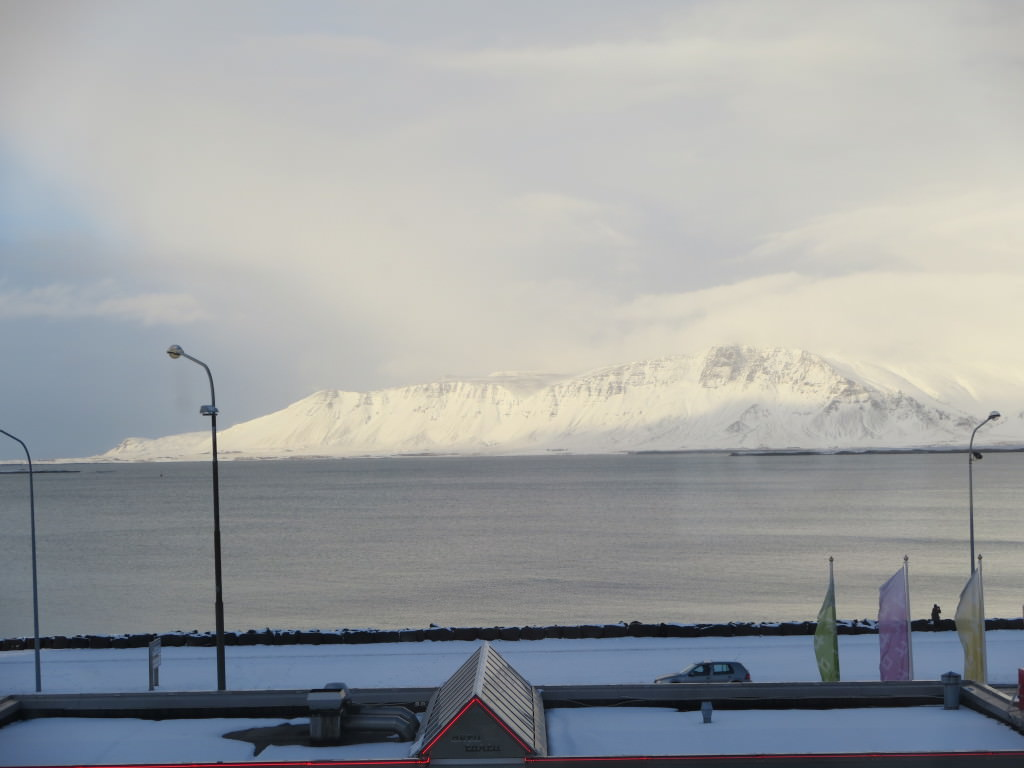 view from Kex Hostel Reykjavik Iceland