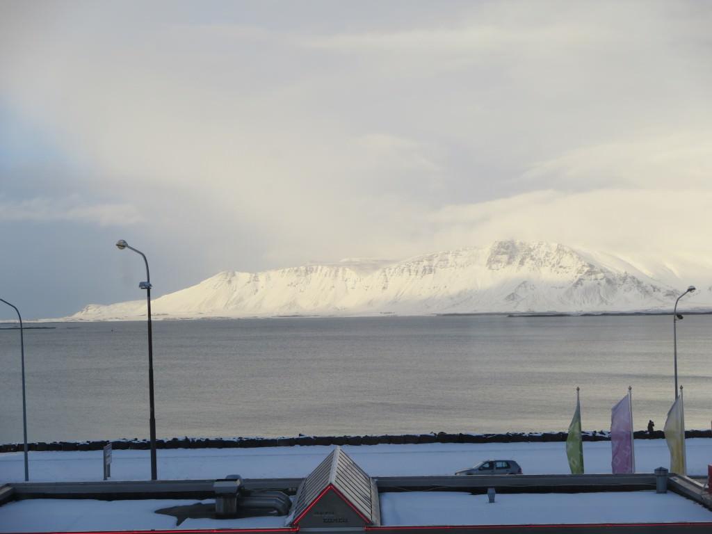 view from Kex Hostel Reykjavik Iceland