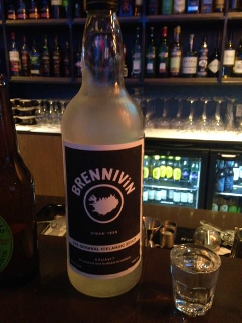 Brennivin Iceland cure for a cold