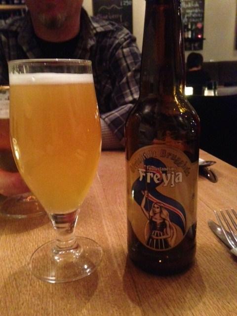 Freya beer Iceland