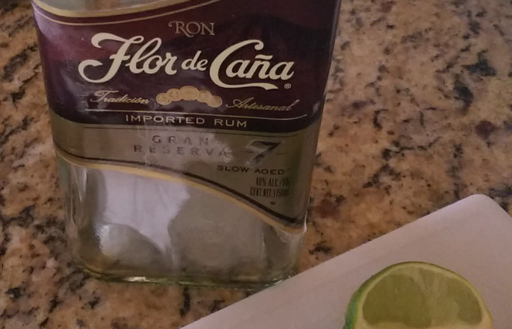 "Flor de Cana. Spanish for ""Get in my Belly"" Photo by Amy and Lance Blackstone"