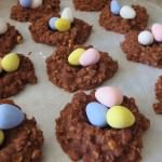 Culinary Adventures: Chocolate Peanut Butter Birds Nest Cookies