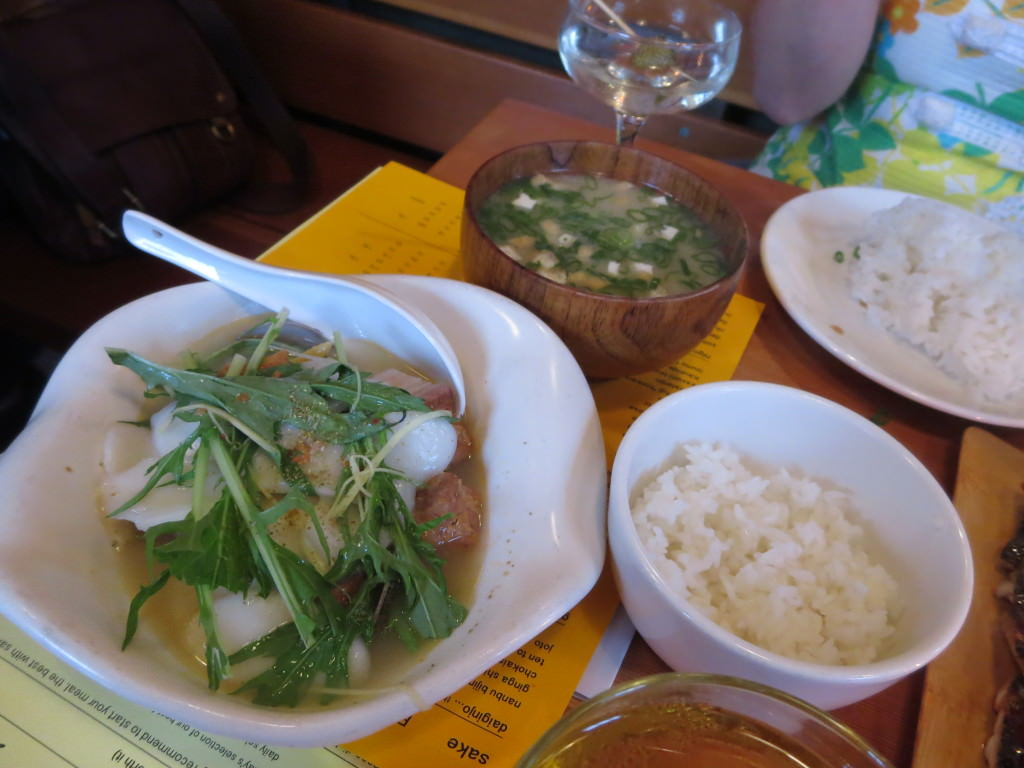 Biwa pork belly clam rice cake soup Portland (5)