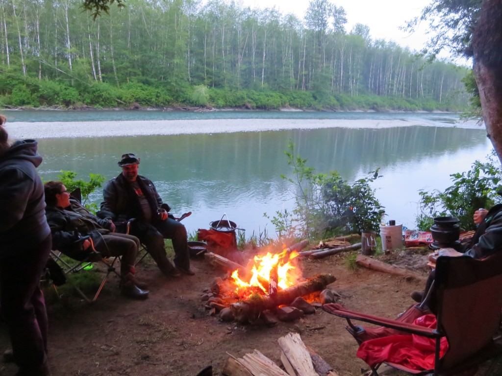 Camping on the Hoh River
