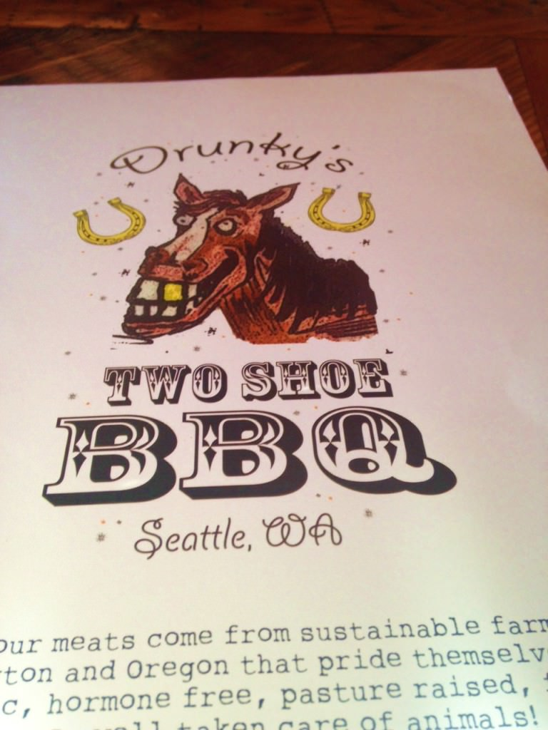 drunkys two shoe bbq menu frelard