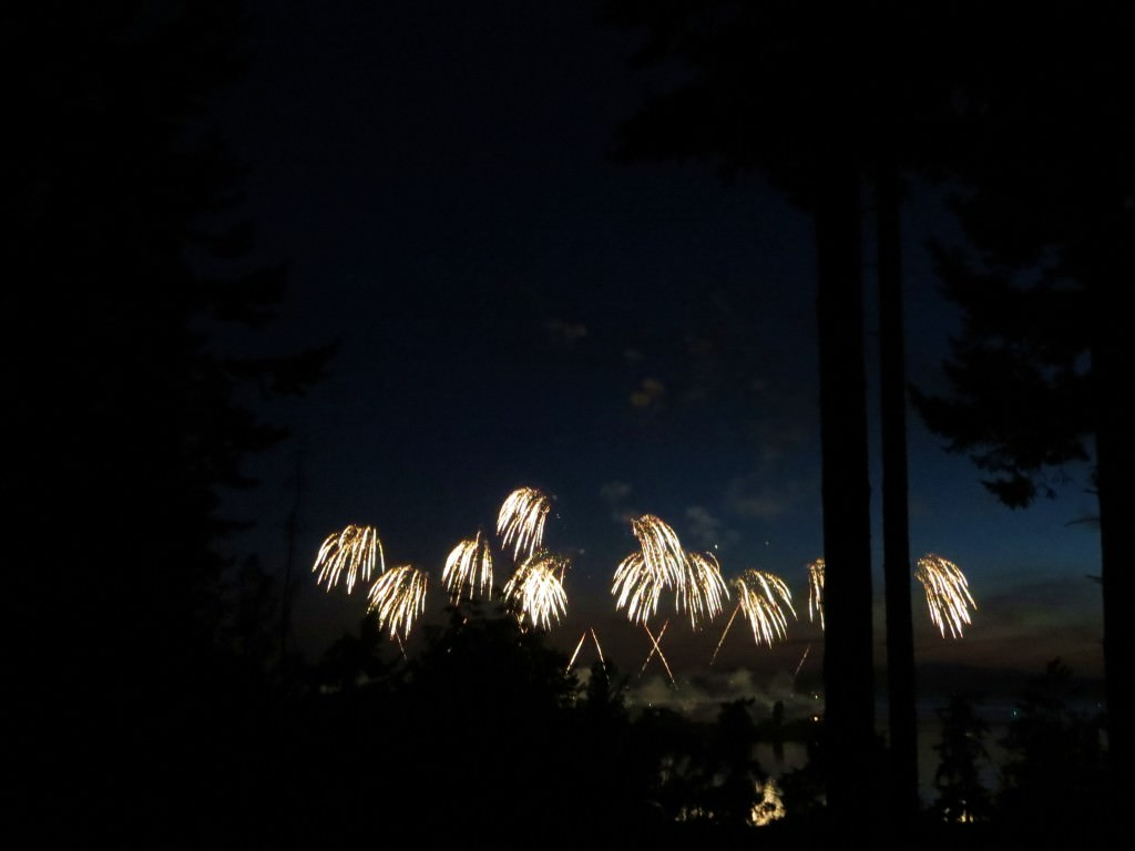 Lopez Island Fourth of July fireworks